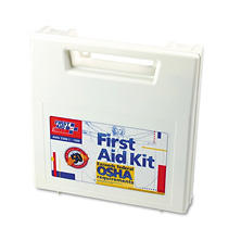 First Aid Only - First Aid Kit for 50 People, 195-Pieces, OSHA/ANSI Compliant -  Plastic Case