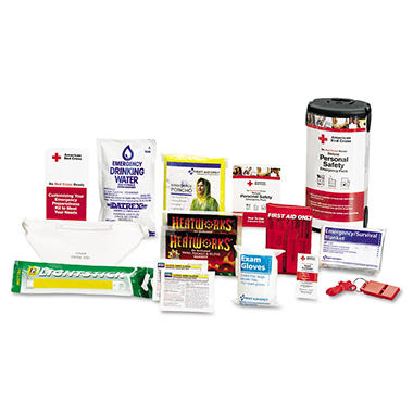 American Red Cross Personal Emerg. Prepardnss Kit