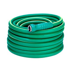 "SmartFlex 5/8"" x 75' Garden Hose, 3/4"" - 11 1/2"" GHT Fittings"