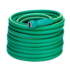 "SmartFlex 5/8"" x 100' Garden Hose, 3/4"" - 11 1/2"" GHT Fittings"