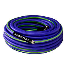"SmartFlex 3/8"" x 50' Air Hose - 1/4"" MNPT Fittings"