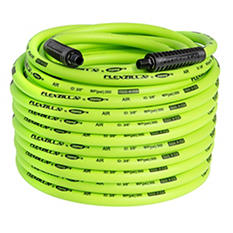 "Flexzilla 3/8"" x 100' Air Hose - 1/4"" MNPT Fittings"