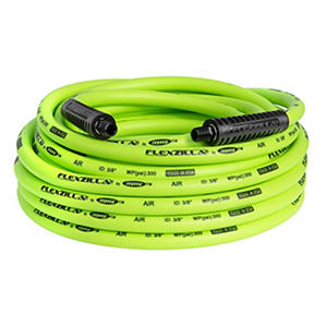 "Flexzilla 3/8"" x 50' Air Hose - 1/4"" MNPT Fittings"