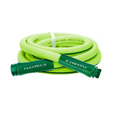 "Flexzilla 5/8"" x 10' Garden Hose, 3/4"" - 11 1/2"" GHT Fittings"