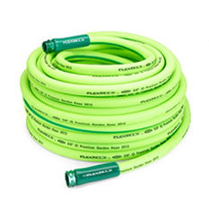 "Flexzilla 5/8"" x 100' Garden Hose, 3/4"" - 11 1/2"" GHT Fittings"