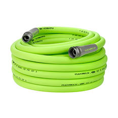 "Flexzilla 5/8"" x 75' Garden Hose, 3/4"" - 11 1/2"" GHT Fittings"