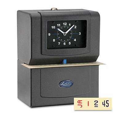 Lathem Heavy Duty Automatic Time Recorder