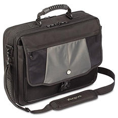 "Targus Blacktop 17"" Deluxe Laptop Case with Dome Protection"