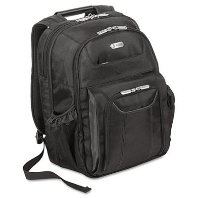 "Targus - Zip-Thru Air Traveler Backpack, Fits 16"" Widescreen Laptop, Polyester -  Black"