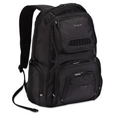 Targus - Legend IQ Backpack, 12-6/10 x 10-1/2 x 18-3/10 -  Black