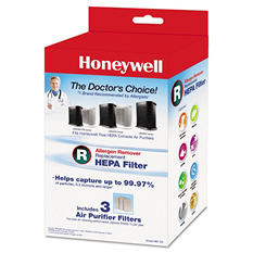Honeywell Allergen Remover Replacement HEPA Filters (3 Pack)