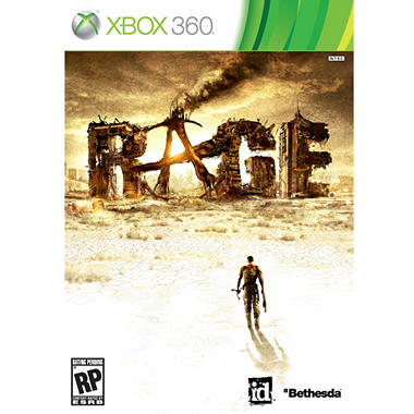 Rage with Pre-Order Bonus Anarchy Edition - Xbox 360