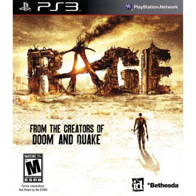 Rage with Pre-Order Bonus Anarchy Edition - PS3