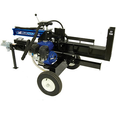 Blue Max 22 Ton Log Splitter - 2-in-1 Vertical & Horizontal