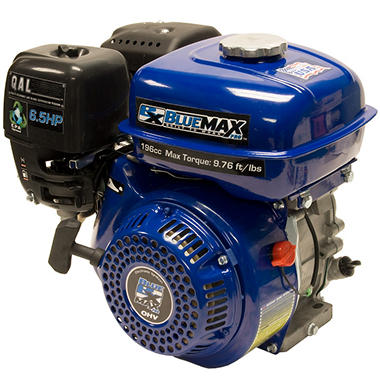 Blue Max 6.5hp Horizontal Shaft Gas Engine