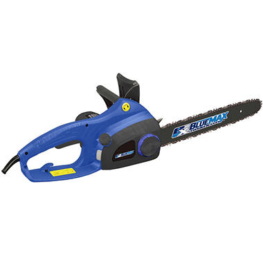 Blue Max 16 inch Electric Chainsaw with Twist Hand Chain Tensioner