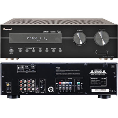 Sherwood 70-Watt A/V Receiver with HDMI Switching