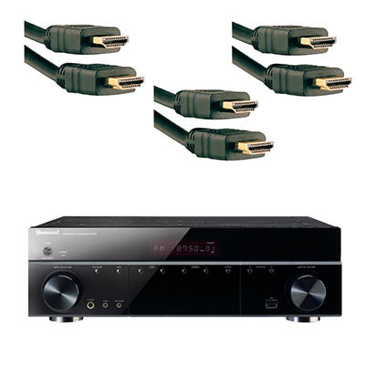 Sherwood 7.1-Channel Wi-Fi Direct A/V Receiver