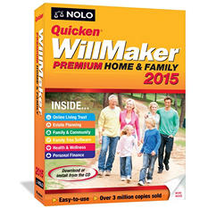 Quicken WillMaker Premium Home and Family 2015