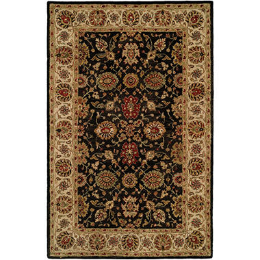 Empire Collection Hand Tufted Wool Area Rug Oriental