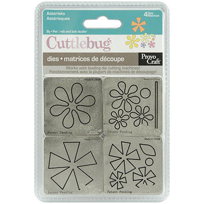 "Cuttlebug 2""X2"" Die Set - Asterisks"