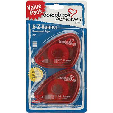 E-Z Runner Tape Value Pack 2/Pkg - 28' Permanent
