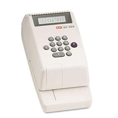 Max E-C30A Electronic Checkwriter, 10-Digit