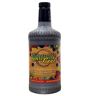 Crusin Cool Lemon Ice Real Fruit Smoothie Concentrate - 64 fl. oz.