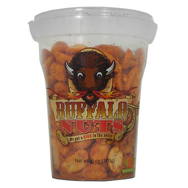 Buffalo Nuts GRABEEZ cups (6 oz. cups, 12 ct.)