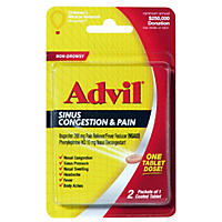 Advil Sinus Congestion & Pain Fever Reducer (2 tablets, 6 pk.)