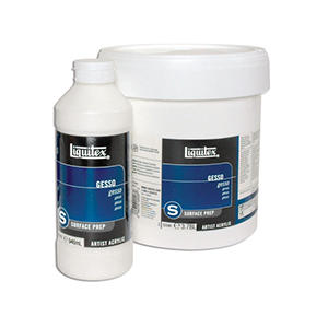 Liquitex Ready-To-Use Acrylic Gesso, Gallon