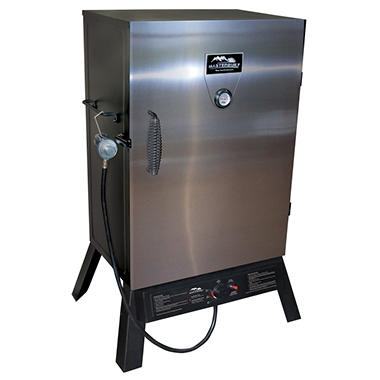 "Masterbuilt 40"" Propane Smoker<br> with Stainless Steel Door"