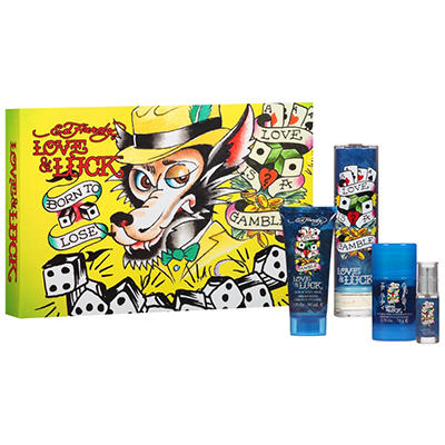 Ed Hardy Love & Luck Men's Gift Set