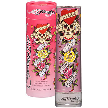 Ed Hardy Original for Women Eau De Parfum - 3.4 oz.