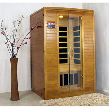 LifeSmart 2 Person Carbon Heater Sauna