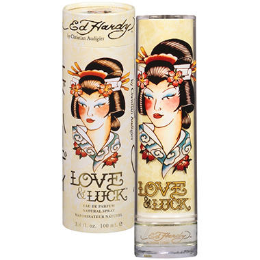 Ed Hardy Love & Luck Eau De Parfum - 3.4 oz.