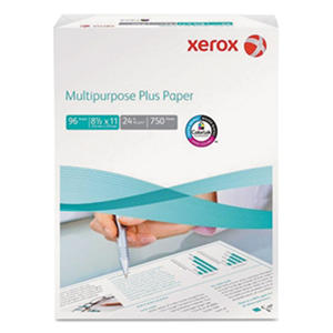Xerox Multipurpose Plus Paper, 24lb, 96 Bright, Letter, 750-Sheet Ream