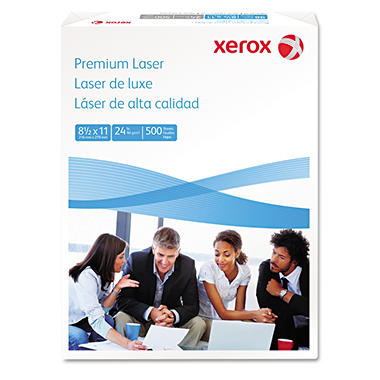 Xerox - Premium Laser Paper, 24lb, 97 Bright, 8-1/2 x 11