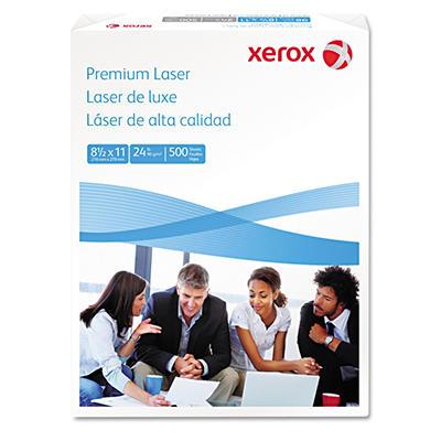 """Xerox - Premium Laser Paper, 24lb, 97 Bright, 8-1/2 x 11"""" - Ream"""