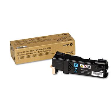 Xerox - 106R01591 Toner, 1,000 Page-Yield -  Cyan