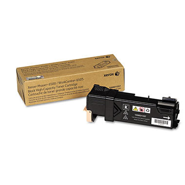 Xerox - 106R01597 High-Capacity Toner, 3,000 Page-Yield -  Black