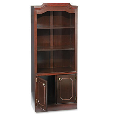 DMI Governor's Collection Bookcase - Mahogany