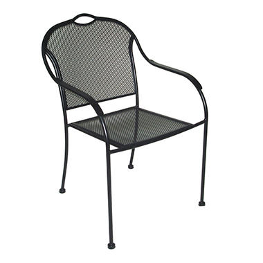 Wrought Iron Bistro Chair