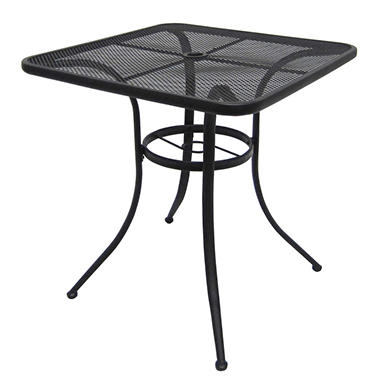 Commercial Wrought Iron Bistro Table