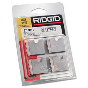 "Rigid - High-Speed RH Manual Threader Pipe & Bolt Die, NPT, 2"" - 11 1/2 TPI"