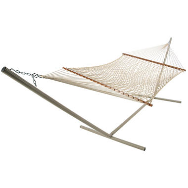 Deluxe Polyester Rope Hammock