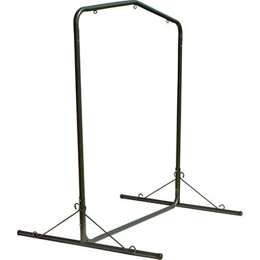 Deluxe Steel Forest Green Textured Swing Stand