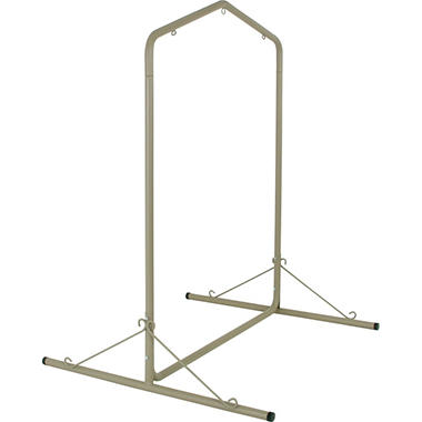 Deluxe Steel Taupe Textured Swing Stand