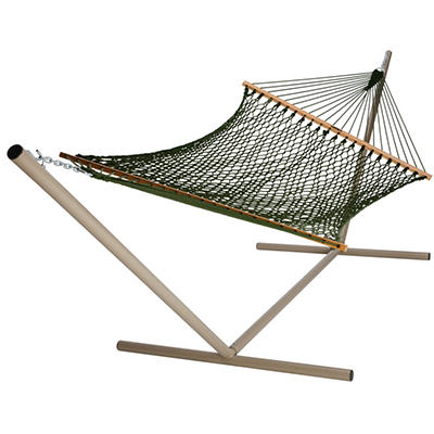 Duracord Rope Hammock - Green