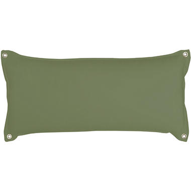 Traditional Hammock Pillow - Leaf Chambray
